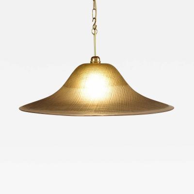 Peill Putzler Mid Century Peill and Putzler Glas Ceiling Lamp