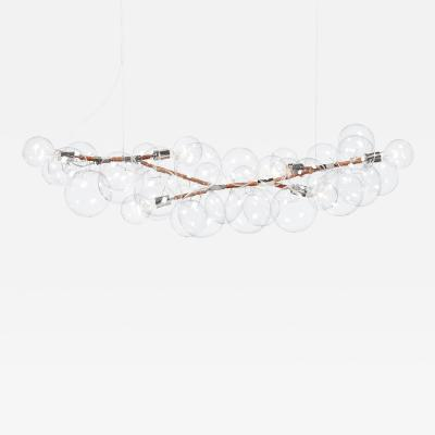 Pelle Bubble Chandelier Long 62