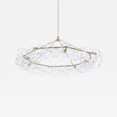 Pelle Bubble Chandelier Wreath