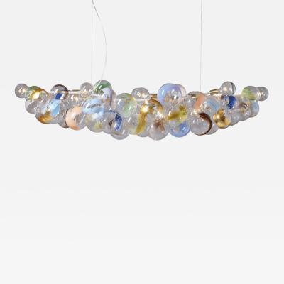 Pelle LONG 80 STROKES BUBBLE CHANDELIER