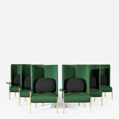 Perezochando Ara Green Armchairs by PerezOchando