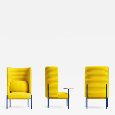 Perezochando Ara Yellow Armchair by PerezOchando