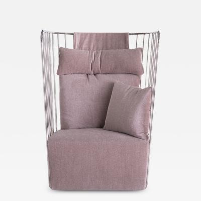 Phase Design Brides Veil Chair High Back