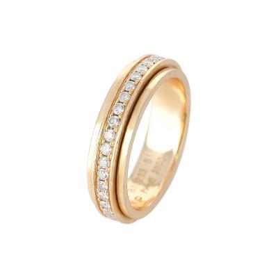 Piaget PIAGET ANNIVERSARY BAND WITH DIAMONDS 18 KARAT YELLOW GOLD