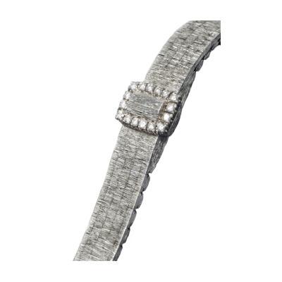Piaget Piaget 1965 Piaget Concealed Dial Diamond Set 18KT White Gold Watch