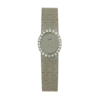 Piaget Piaget Ladys White Gold Diamond Wristwatch
