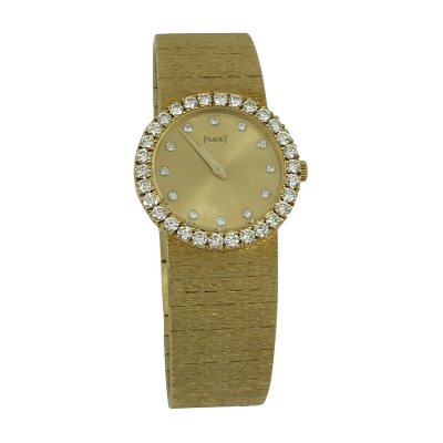 Piaget Piaget Ladys Yellow Gold Diamond Wristwatch