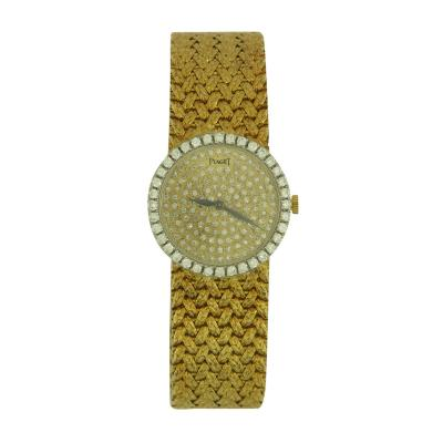 Piaget Piaget Ladys Yellow Gold and Diamond Bracelet Watch