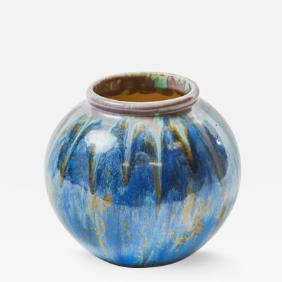 Pierrefonds A Pierrefonds Crystalline Glazed Vase