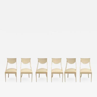 Pietro Costantini Set of 6 Mid Century Dining Chairs by Pietro Constantini