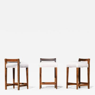 Pietro Costantini Umberto Counter Stool Argentine Rosewood from Costantini Design