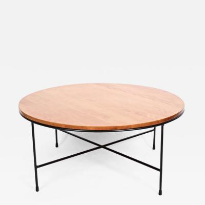 Planner Group Original Paul McCobb Planner Group Birch Iron Coffee Table