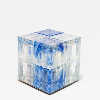 Poliarte Glass cube light by Poliarte
