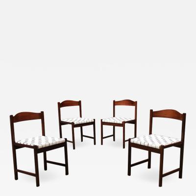 Poltronova Set of chairs by Poltronova 1960s