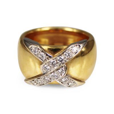 Pomellato Pomellato gold and diamond ring
