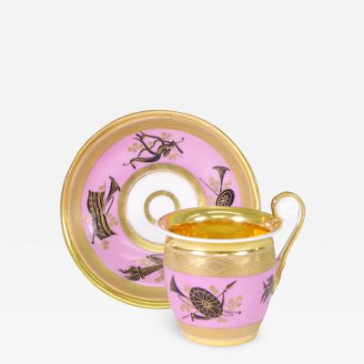 Popov Popov Cup and Saucer c 1820