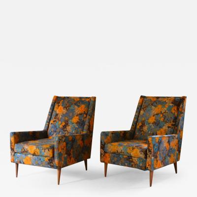 Prestige Pair of Mid Century Club Chairs