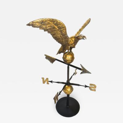Puritan Ironworks Company Eagle Weathervane American Circa 1900