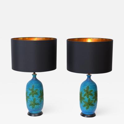 Quartite Creative Corp Pair of Quartite Creative Corp Ceramic Table Lamps c 1960
