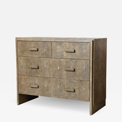 R Y Augousti Shagreen Commode