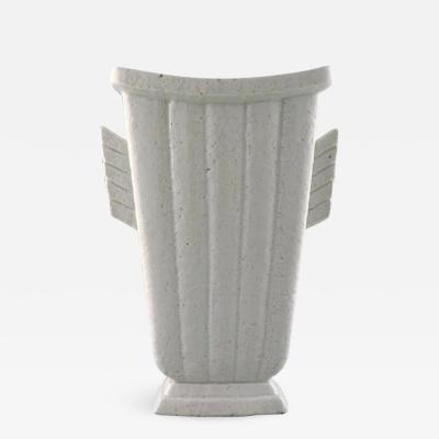 R rstrand R rstrand Gunnar Nylund Sweden Chamotte vase