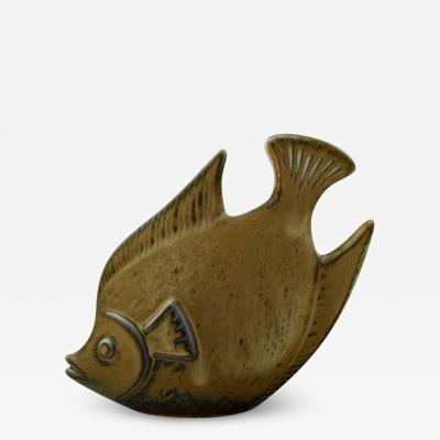 R rstrand Stoneware figure fish