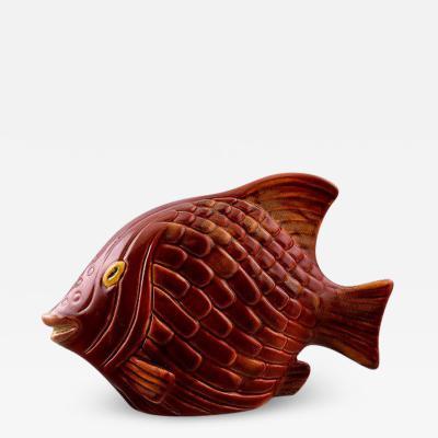 R rstrand Stoneware figure fish