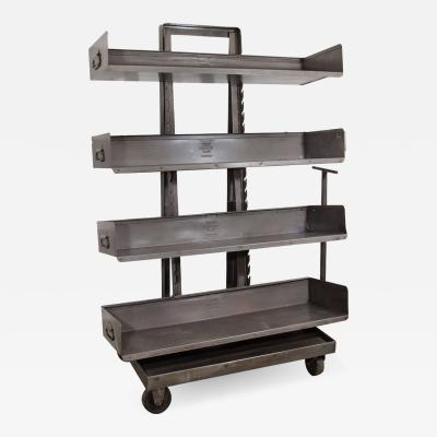RACK Engineering RACK Engineering Industrial Bookcase with Wheels
