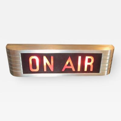 RCA RCA Victor On Air Lighted Recording Sign
