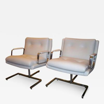 Raphael Furniture A Pair of Modernist Club Chairs by Raphael