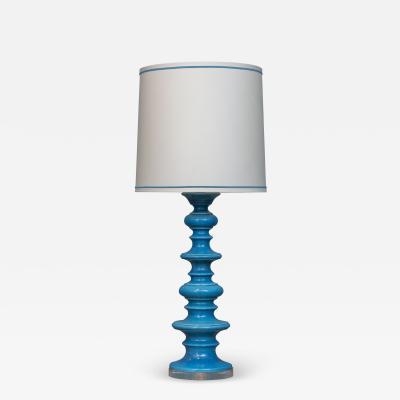 Raymor Mid Century Modern Italian Ceramic Table Lamp