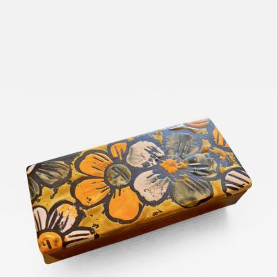 Raymor Raymor Floral Ceramic Box