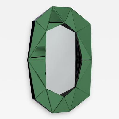 Reflections Copenhagen Emerald Diamond Decorative Mirror