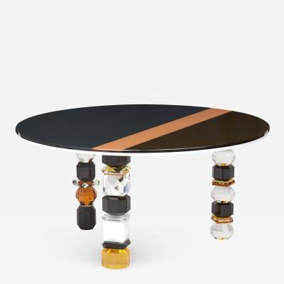 Reflections Copenhagen Louisiana Contemporary Crystal Table