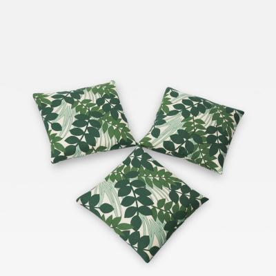 Reha Okay 3 pillows with fabric from the 70s