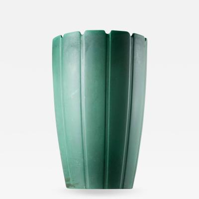 Richard Ginori Ceramic Vase by Giovanni Gariboldi for San Cristoforo Richard Ginori