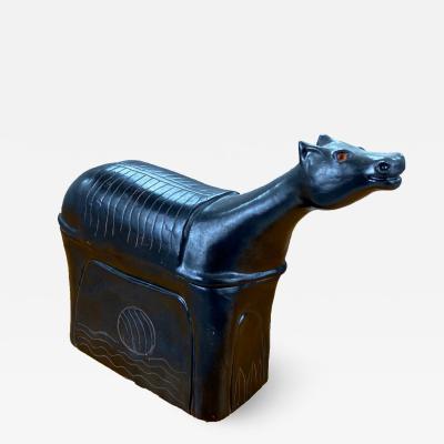Robert Jean Cloutier Robert and Jean Cloutier Sculpture Horse circa 1960 France