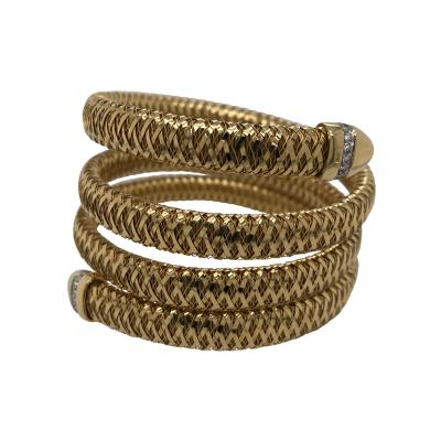 Roberto Coin Roberto Coin slinky snake cuff