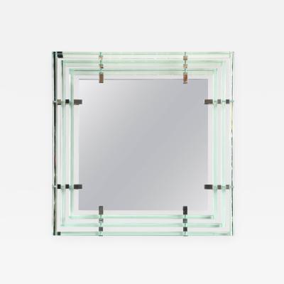 Roberto Giulio Rida Modernist Mirror by Roberto Giulio Rida made in Italy