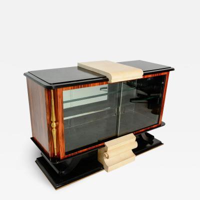 Roberto Mito Block French Art Deco Neoclassical Credenza Sideboard Roberto Mito Block
