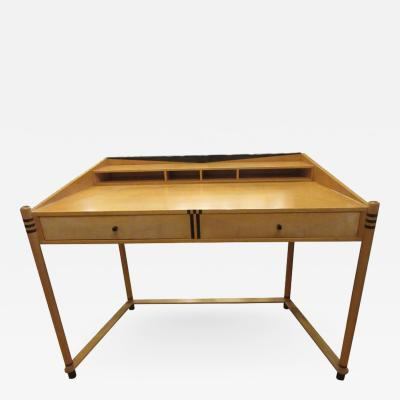 Roche Bobois Roche Bobois Art Deco Design Maple Wood Desk