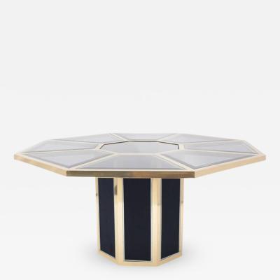 Roche Bobois Roche Bobois Octagonal Brass Dining Table