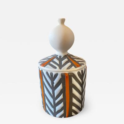 Roger Capron Ceramic box France 1960s