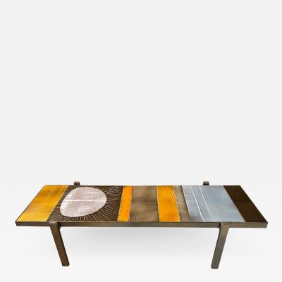 Roger Capron Coffee Table Soleil