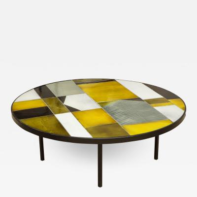 Roger Capron ROGER CAPRON ROUND LOW TABLE