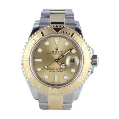 Rolex 2003 2 Tone Rolex Yachtmaster Stlye No 16623 Pre Owned