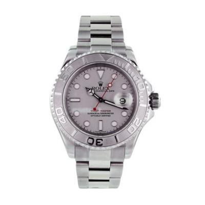 Rolex Ladies Platinum 2006 Yachtmaster Style No 169622 Pre Owned