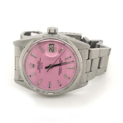 Rolex Pink Dial Rolex Date