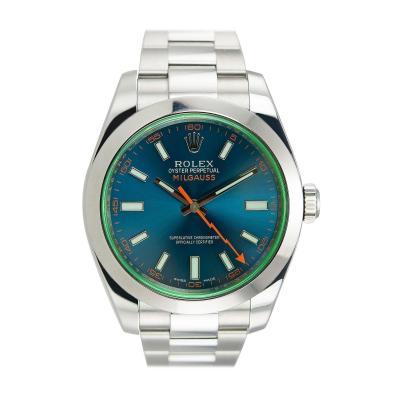 Rolex Rolex Steel Milgauss Wristwatch Ref 116400GV 2015