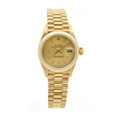 Rolex Rolex Yellow Gold Presidential DateJust Wristwatch